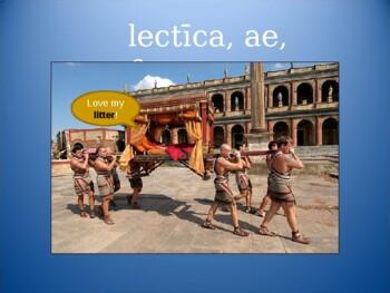 Ecce Romani I Chapter 23 Vocabulary PowerPoint