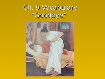 Ecce Romani I Ch. 9 Vocabulary PowerPoint