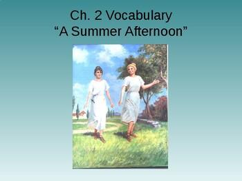 Ecce Romani I Ch. 2 Vocabulary PowerPoint