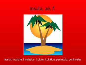 Ecce Romani II Ch. 30 Vocabulary PowerPoint