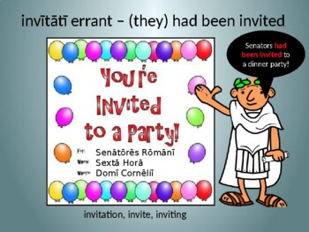 Ecce Romani II Ch. 32 Vocabulary PowerPoint