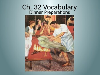 Ecce Romani II Ch. 32 Vocabulary PowerPoint
