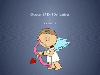 Ecce Romani II Ch. 34 Ex. I Derivative PowerPoint