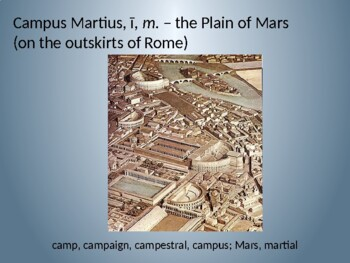 Ecce Romani II Ch. 43 Vocabulary PowerPoint Slideshow