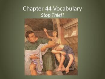 Ecce Romani II Ch. 44 Vocabulary PowerPoint Slideshow