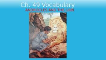 Ecce Romani II Ch. 49 Vocabulary PowerPoint Slideshow