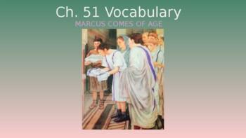 Ecce Romani II Ch. 51 Vocabulary PowerPoint Slideshow