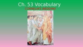 Ecce Romani II Ch. 53 Excercises e & f Vocabulary PowerPoint