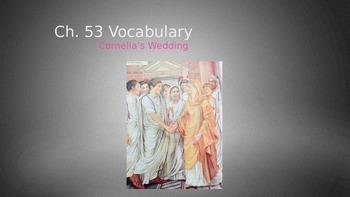 Ecce Romani II Ch. 53 Vocabulary PowerPoint