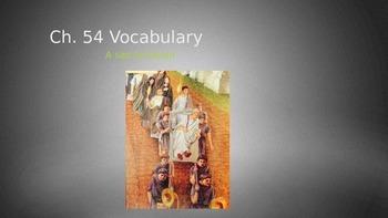 Ecce Romani II Ch. 54 Vocabulary PowerPoint Slideshow