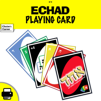 Echad- an UNO-inspired game!