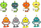 Échelle de comportement: Les p'tits robots