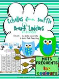 Échelles d'un souffle - Mots fréquents: Les couleurs (One Breath Ladders in Fr.)