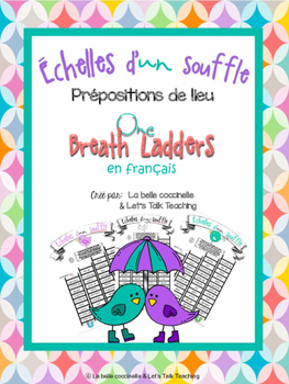Échelles d'un souffle - Prépositions (One Breath Ladders - French Prepositions)