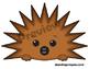 Echidna Clip Art / Echidna Finger Puppet / Echidna Mask