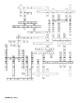 Echinoderms Vocabulary Crossword for Invertebrate Biology