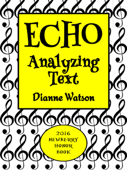 Echo Novel Study Analyzing Text