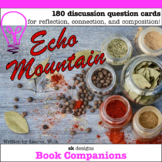 Echo Mountain Novel Study Question Cards for Classroom & D