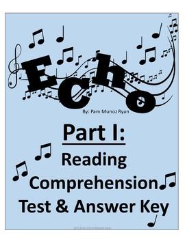 Echo-Part I Reading Comprehension and Figurative Language Quiz