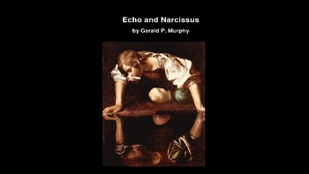 Echo and Narcissus One Act Play PowerPoint