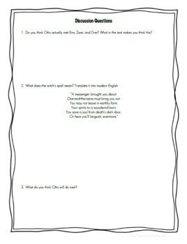 Echo by Pam Munoz Ryan Novel Study/Literature Circle Guide