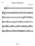 Band Chart: Echoes of Memories - New for Remembrance Day