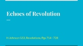 Echoes of Revolution Powerpoint