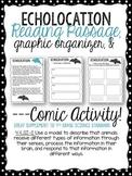 Echolocation Passage, Graphic Organizer, & Comic Activity. 4-LSI-2 Next Gen.