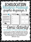 Echolocation Passage, Graphic Organizer, & Comic Activity.