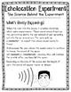 Echolocation/Sound Wave Experiment