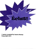 Eclat!  A fast-paced vocab game for French Class or French Club (TEB2)
