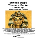 Eclectic Egypt Thematic Unit for Second Grade