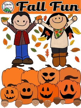 Eclectic Elementary Fall Fun Clipart