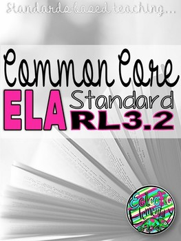 Eclectic Elementary: Standards Based Reading Pack RL3.2