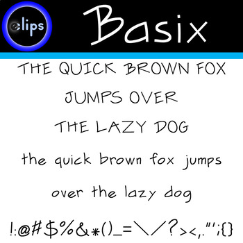 Eclips Basix Font OTF (OpenType Font) Freebie for Limited Time