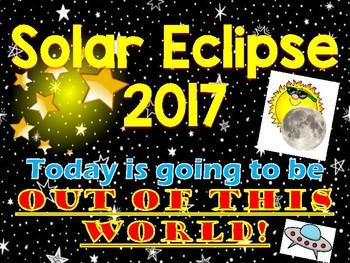 Eclipse 2017 Screen Saver Display