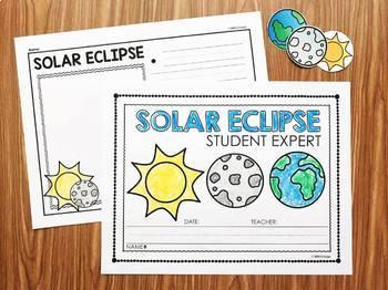 Eclipse Activities :  Lunar Eclipse & Solar Eclipse