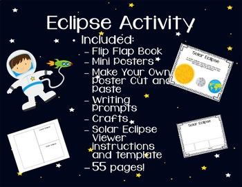 Eclipse Activity-UPDATED! Solar Eclipse 2017