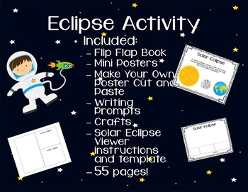 Eclipse Activity-UPDATED! Solar Eclipse 2017