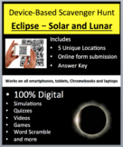 Eclipse - Solar and Lunar – A Digital, Device-Based Scavenger Hunt Activity