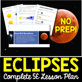 Eclipses Complete 5E Lesson Plan - Distance Learning