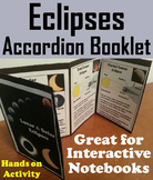 Lunar and Solar Eclipses 2017 Activity Foldable (Space Science/ Astronomy)