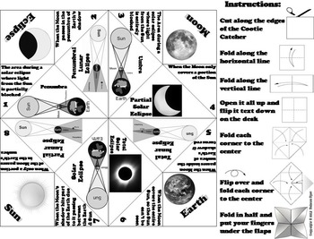 Eclipses Activity (Space Science: Astronomy)