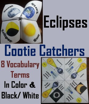 Solar and Lunar Eclipses Activity (Space Science: Astronomy)