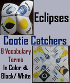 Solar & Lunar Eclipses Activity (Cootie Catcher: Astronomy