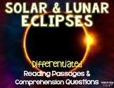 Eclipses Leveled Texts {Differentiated  Reading Passages & Questions}