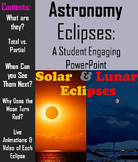 Lunar and Solar Eclipses 2017 - An Engaging Interactive PPT: Space Science