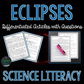 Eclipses - Science Literacy Article