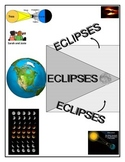 Eclipses: Solar and Lunar Eclipses - 2 Activity COMBO (Col