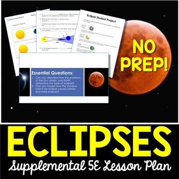 Eclipses - Supplemental Lesson - No Lab